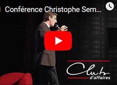 Conférence Christophe Sempels