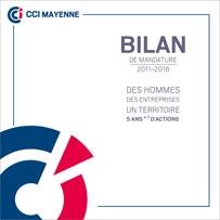 Bilan de mandature CCI 2011 2016
